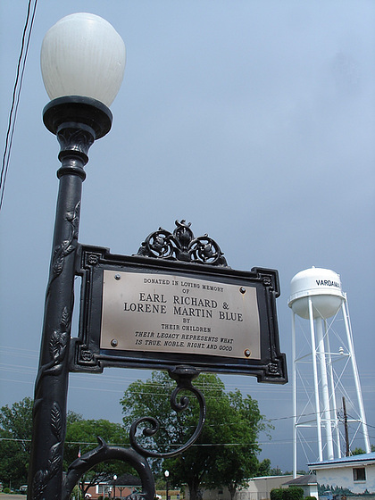 Vandarman, Mississippi. USA - 9 juillet 2010 - Photo originale.