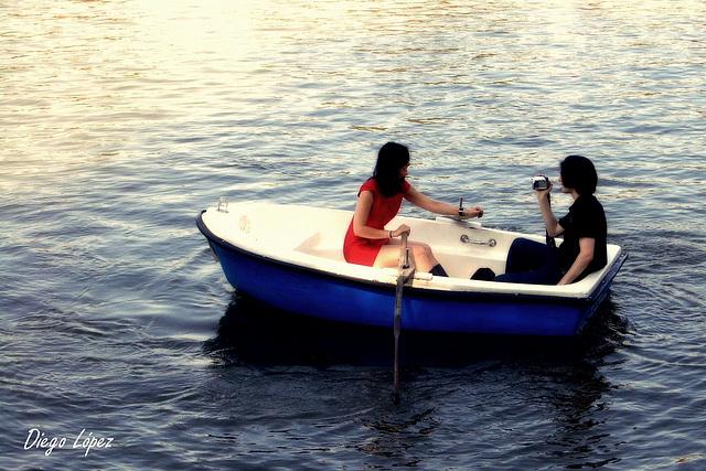 Hay quien maneja mi barca, Quien!!