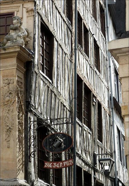 Rouen et ses façades anciennes