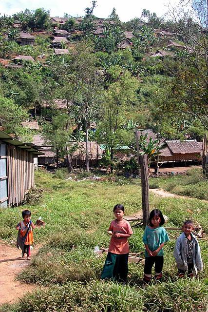 In a Karen refugee village called Mae La