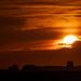 Tonights sunset at Hayling island
