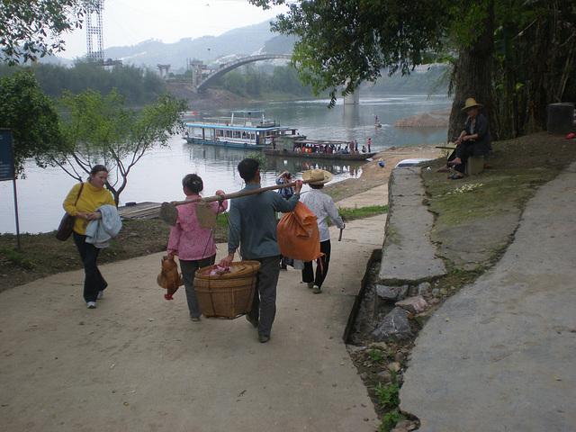 Zhaoxing- Río Li en la China profunda
