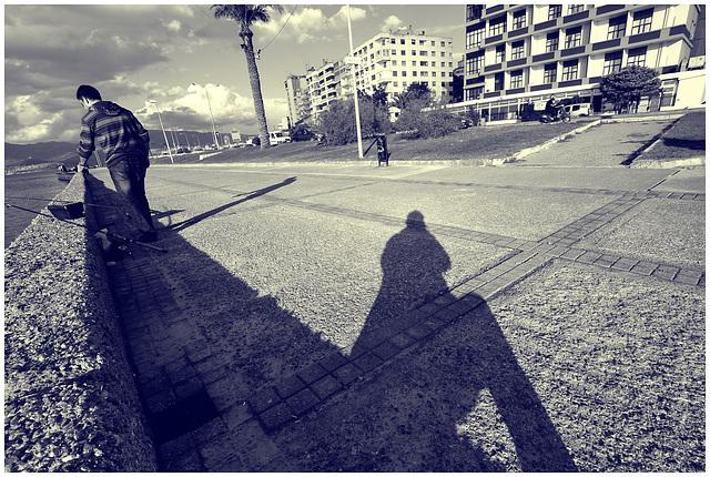 Le photographe et le pecheur