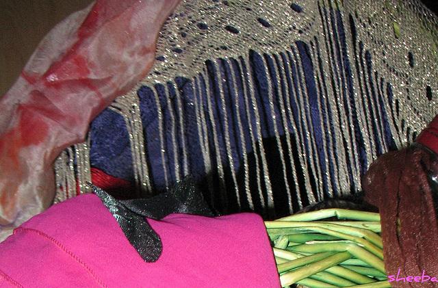 Fringe, shawls & silk...