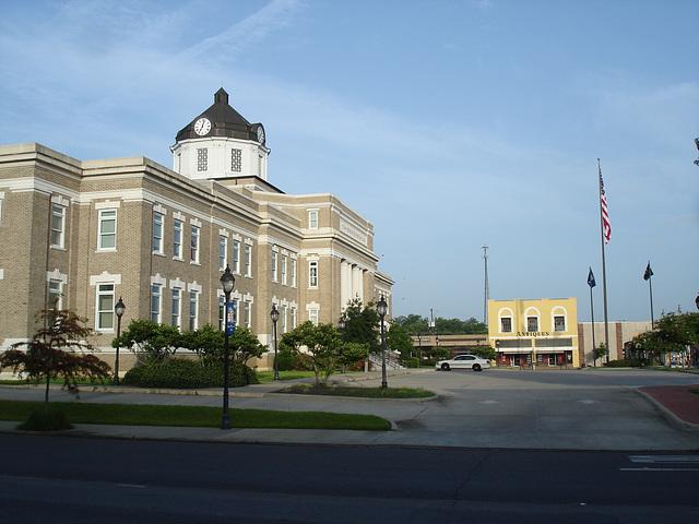 Morehovse- Parish 1914 / Bastrop, Louisiana. USA - 8 juillet 2010. Photo originale.