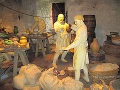 Stirling Castle the old kitchen