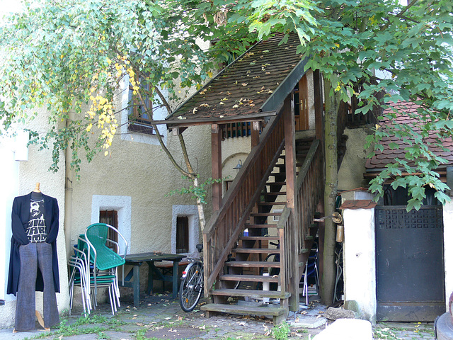 Hinterhof in Weiden
