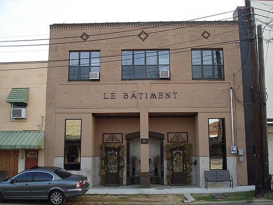 Le bâtiment /  Bastrop, Louisiana. USA - 8 juillet 2010