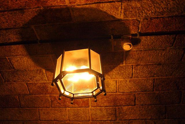 Beleuchtung im Tunnel