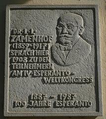 Dr Ludwig Zamenhof - Wehlen