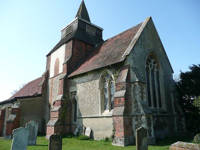 fyfield church, c14 chancel