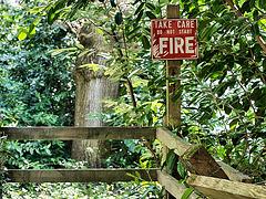 Do not start fire!
