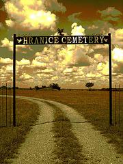 Hranice cemetery / Texas. USA - 5 juillet 2010 - Sepia