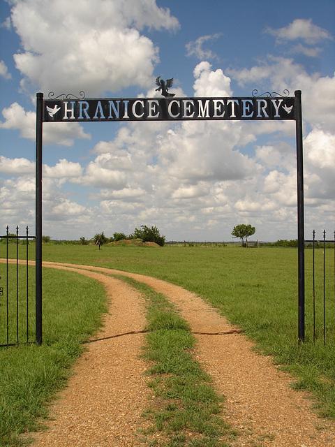 Hranice cemetery / Texas. USA - 5 juillet 2010.