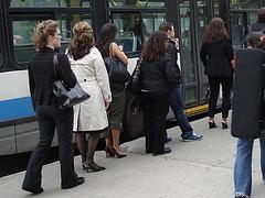 Les Dames STM en talons hauts / STM Ladies in high heels