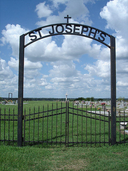 St-Josephs cemetery / Texas. USA - 5 juillet 2010