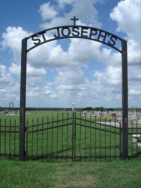 St-Joseph's cemetery / Texas. USA - 5 juillet 2010