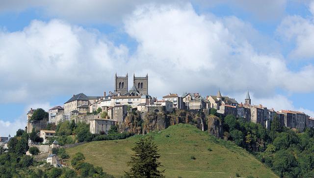 Saint Flour, Village de France