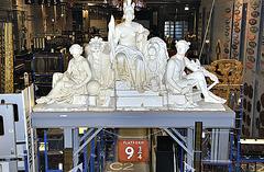 "The ""Harry Potter"" platform, National Railway Museum, York."