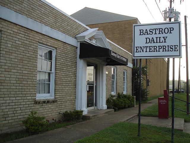 Bastrop daily enterprise / Bastrop, Louisiana, USA. USa - 8 juillet 2010.