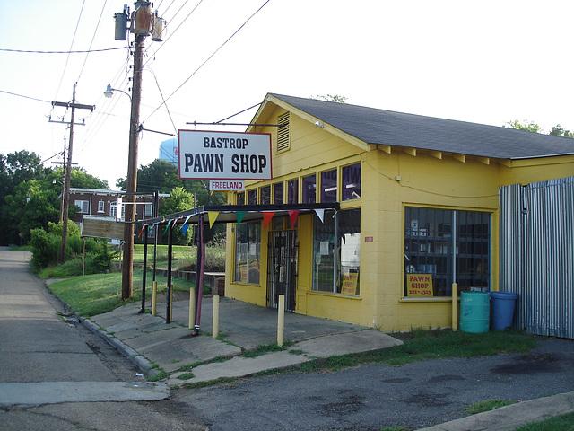 Pawn shop / Bastrop, Louisiana, USA - 8 juillet 2010.