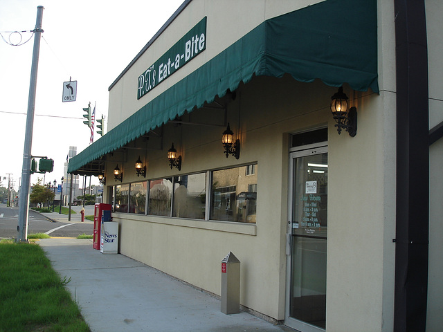 P.J s Eat-a-bite / Bastrop, Louisiana, USA - 8 juillet 2010.