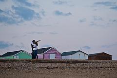 Love amongst the beach huts!