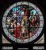 Fenster im Festsaal des Rathauses in Quedlinburg