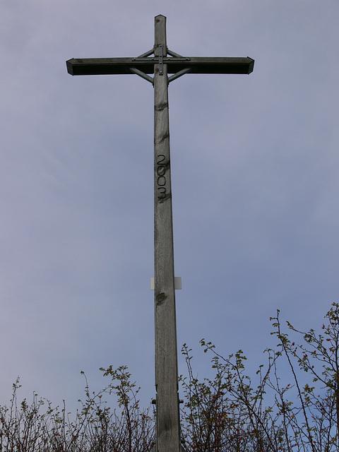 Gipfelkreuz am Münchshofener Berg