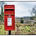Post Box on a Post
