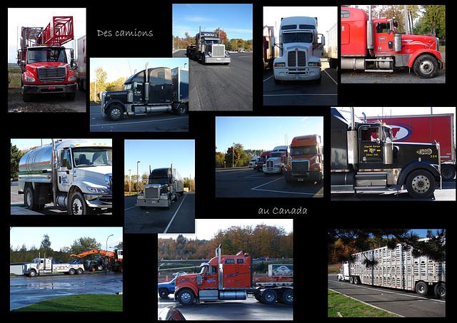 Canada de beaux camions!