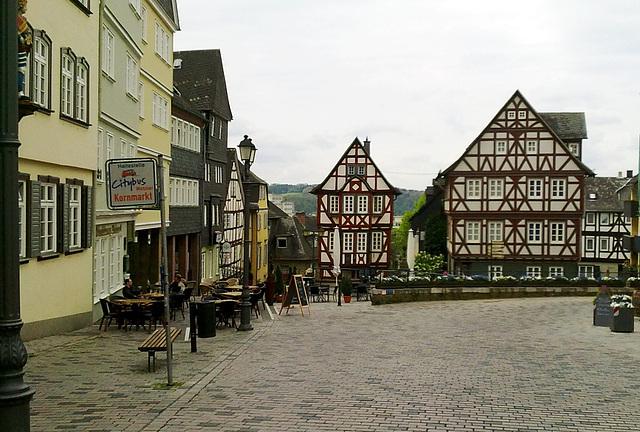 Der Kornmarkt in Wetzlar