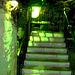 Starry stairs / Escaliers étoilés - San Antonio, Texas. USA - 28 juin 2010 - Postérisation