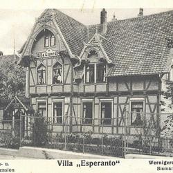 Germanio - Vilao Esperanto - Wernigerode Harz