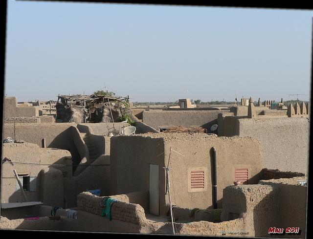 über den Dächern von Djenné