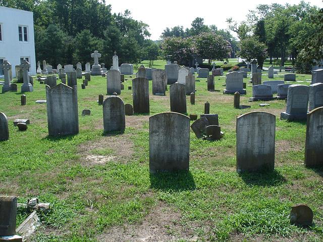 Ebenezer united methodist cemetery / Cimetière - Berlin, Maryland. USA - 18 juillet 2010.