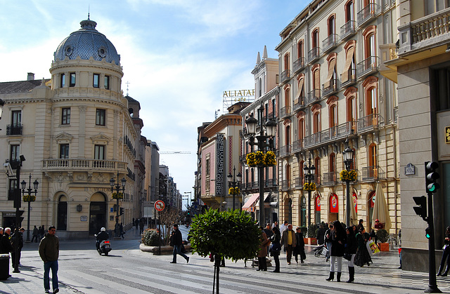 Puerta Real. Granada