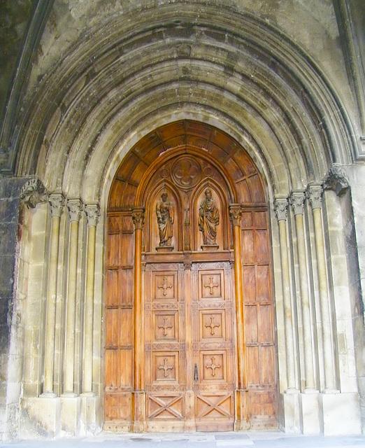 Porte entrée Abbatiale
