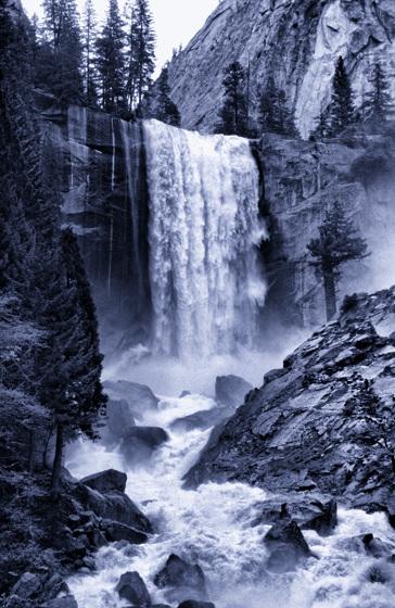 Vernal Falls - 1986
