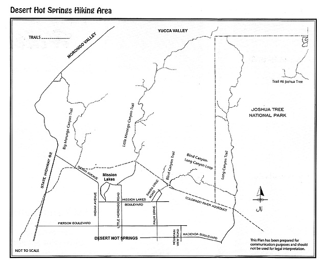 Desert Hot Springs trails map