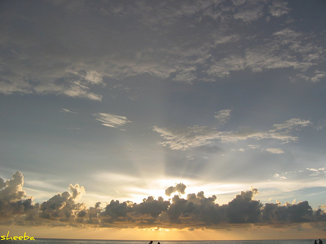 Sky of Beauty at AnnaMaria Island