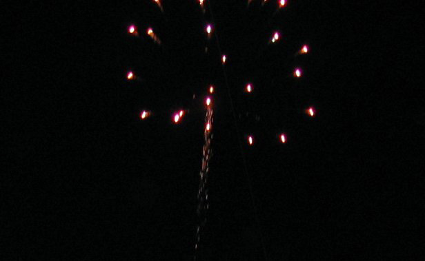 Fireworks at Joker Marchant Stadium