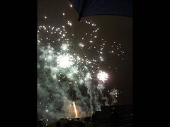 Le feu d'artifice annuel de Cergy