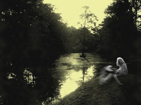Ghosts on the bayou / Fantômes sur le bayou - Indianola, Mississippi. USA - 9 Juillet 2010