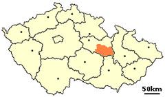 Distrikto Svitavy situo en Ĉeĥio