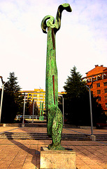 Escultura urbana.