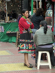 Typic woman, typic Peruana