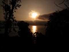 Sonnenuntergang in Baranco in Lima/Peru