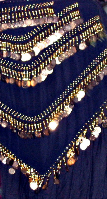 """""""With blue satin sashes .."""""""