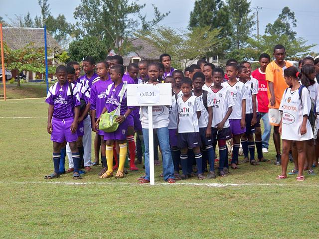 U13 und U15 von OEM (an JACADI angebunden) beim SOS-Kinderdorftunier in Tamatave